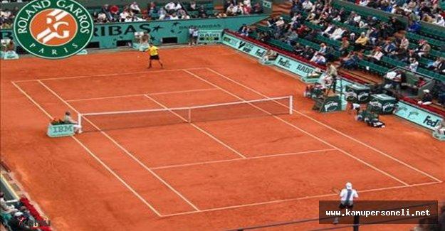 Fransa Açık Tenis Turnuvasında Son Surum