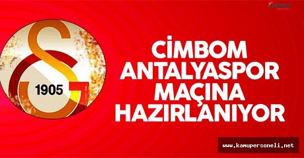 Galatasaray Antalyaspor Maçı için Hazırlıklarına Devam Ediyor
