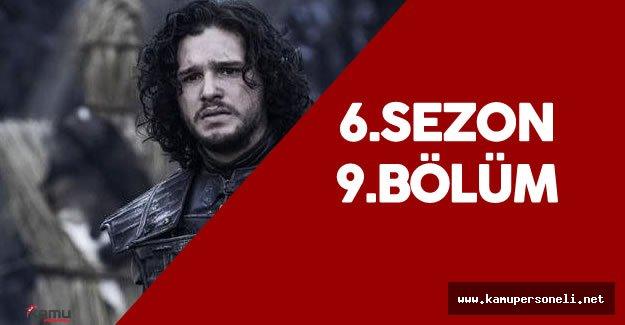 Game Of Thrones 6. Sezon 9.Bölüm Fragmanı Büyük İlgi Gördü - Ramsay ile John Snow Karşı Karşıya