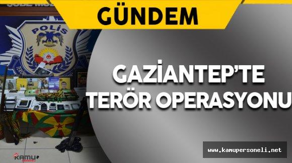 Gaziantep'te Terör Operasyonu: 18 Gözaltı