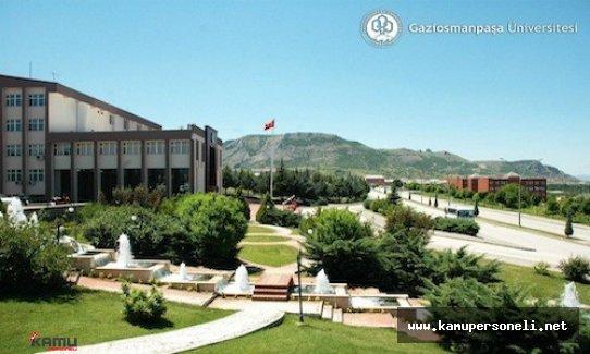 Gaziosmanpaşa Üniversitesi 12 Akademik Personel Alım İlanı