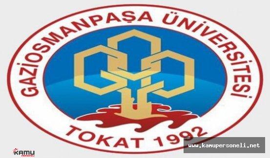 Gaziosmanpaşa Üniversitesi Akademik Personel Alımı Yapıyor