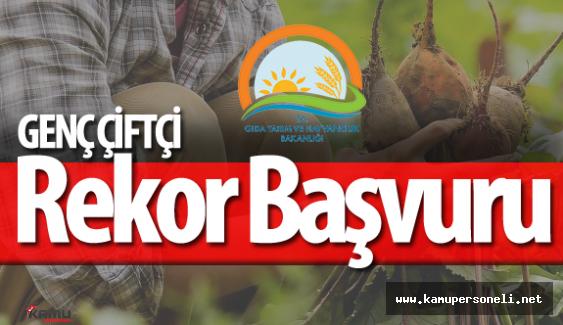 Genç Çiftçi 30 Bin TL Hibe Projesine Rekor Sayıda Başvuru