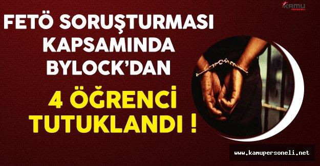 Giresun'da FETÖ'den 4 Öğrenci Tutuklandı !