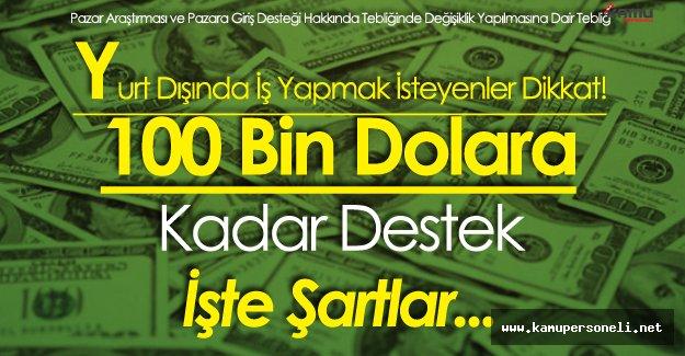 Girişimcilere Müjdeli Haber! 100 Bin Dolara Kadar Destek Devletten