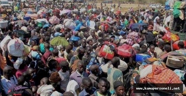 Güney Sudan'daki Yerinden Edilen Mülteci Sayısı 60 Bine Yükseldi