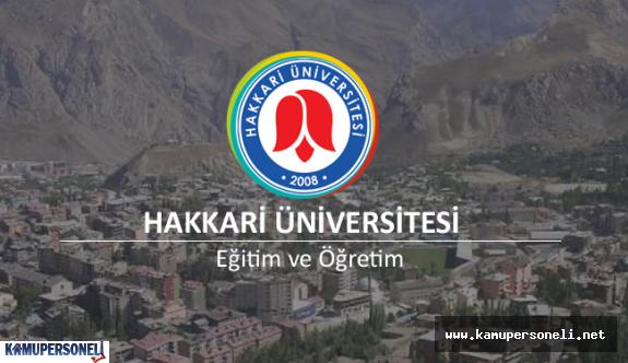 Hakkari Üniversitesi 2 İç Denetçi Alacak