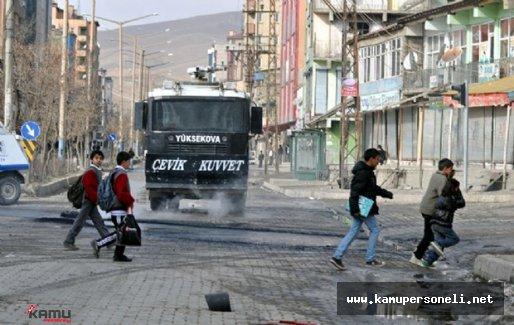 Hakkari Yüksekova'da Sokağa Çıkma Yasağı Bitiyor