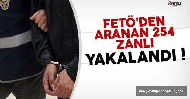 FETÖ'den Haklarında yakalama kararı olan 254 zanlı havalimanı'nda yakalandı