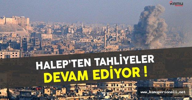 Halep'ten Tahliyeler Devam Ediyor