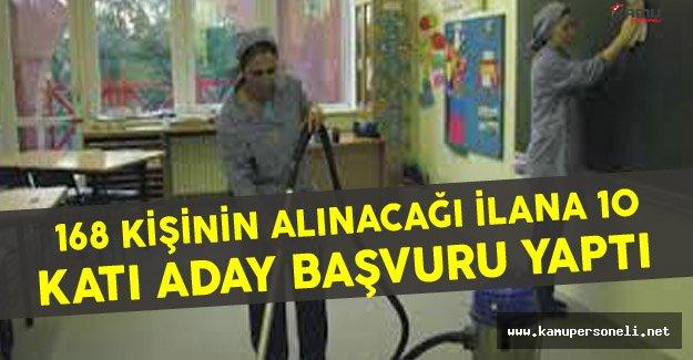 """Halil İbrahim Coşkun: """"168 Kişinin Alınacağı İlana 10 Katı Başvuru Yapıldı ! """""""