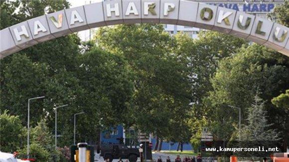 Hava Harp Okulu'nda 4 Şüpheli Gözaltına Alındı