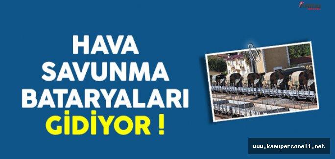 Hava Savunma Bataryaları Adana'ya Gidiyor