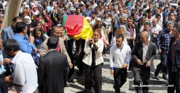HDP Miletvekilleri Teröristin Cenazesine Katıldı