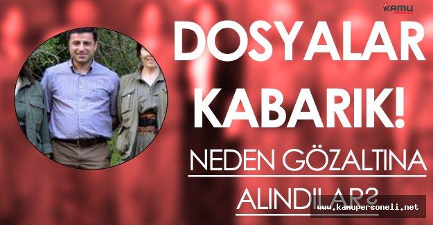 HDP Milletvekilleri Neden Gözaltına Alındı? (Dosyalar Kabarık ! İşte Detaylar)