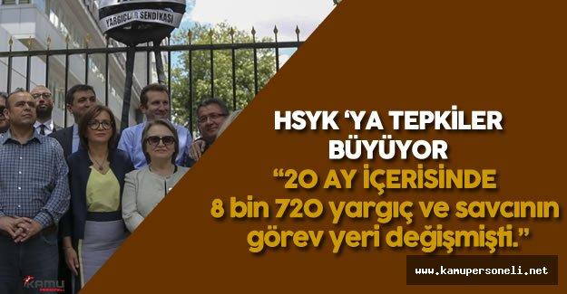 HSYK 'nın Adli ve İdari Yargı Ana Kararnamelerine Tepki