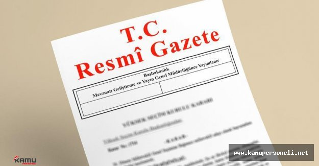 Hükumet Kurma Yetkisi Resmi Gazete'de Yayımlandı