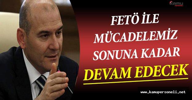 İçişleri Bakanı Soylu FETÖ İle Mücadele Hakkında Açıklamalar Yaptı