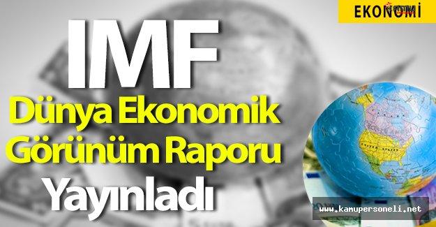 IMF Dünya Ekonomik Görünüm Raporunu Yayımladı