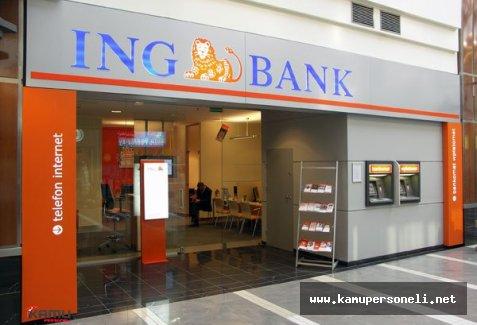ING Bank Düşük Faiz Geniş Vadeli 10 Bin TL İhtiyaç Kredisi Fırsatı