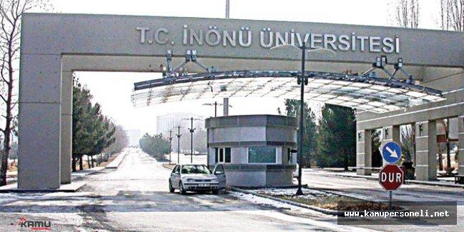 İnönü Üniversitesi 2 Akademik Personel Alacak