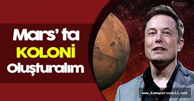 İnsanoğlu Marsa Göç Edebilecek!