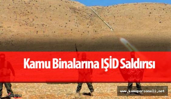 IŞİD Orman İşletme Müdürlüğü ile Gıda Tarım ve Hayvancılık İl Müdürlüğü 'ne Saldırdı