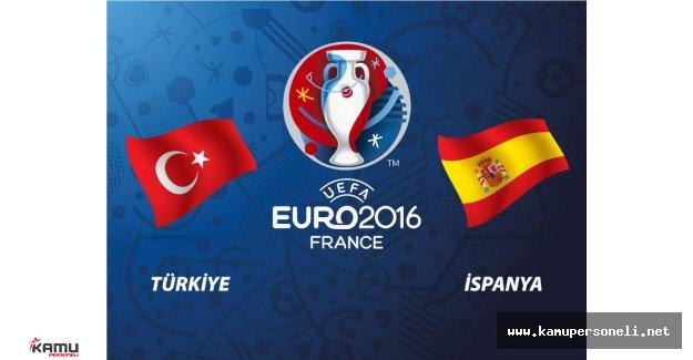 İspanya 3  Türkiye 0 Maç Özeti Yayımlandı - (EURO 2016 Geniş Özet)