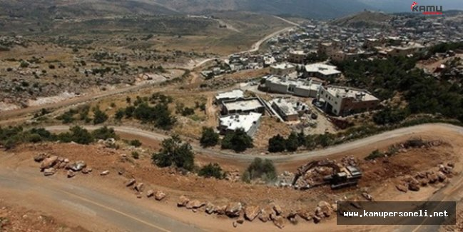 İsrail Suriye Rejimine Ait Askeri Hedefleri Vurdu