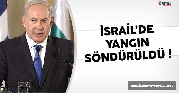 İsrail yangını bitti mi ? İsrail'de son durum açıklaması Reuven Rivlin'nden geldi