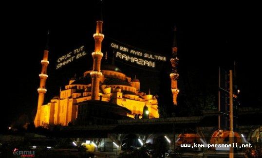 İstanbul 2016 İftar ve Sahur Vakitleri
