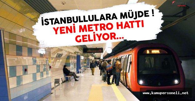 İstanbul'a Gelecek Yeni Metro Hattı Hangi İlçelerden Geçecek