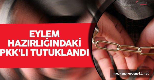 İstanbul Avcılar'da Eylem Hazırlığındaki PKK'lı Tutuklandı