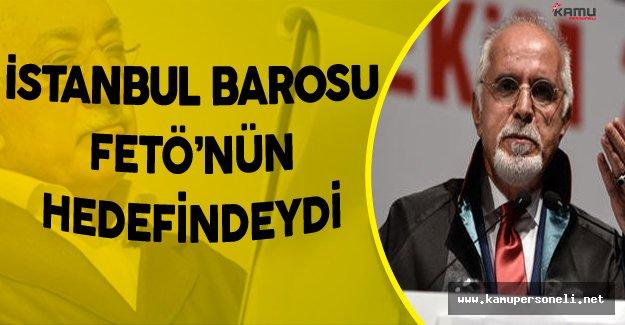 """İstanbul Barosu Başkanı Durakoğlu'ndan Flaş Açıklamalar! """"Baroyu Ele Geçirmeye Çalıştılar"""""""