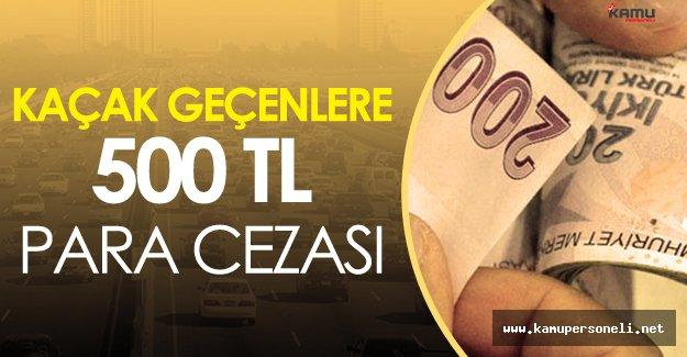 İstanbul'da Köprüden Kaçak Geçen Yandı! Uygulama 17 Ekim'de Başlıyor!