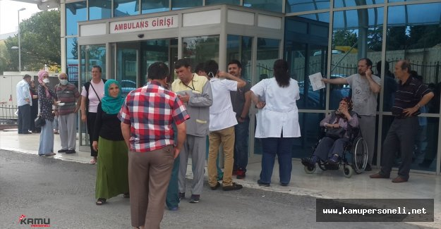 İstanbul'da Korkutan Hastane Yangını