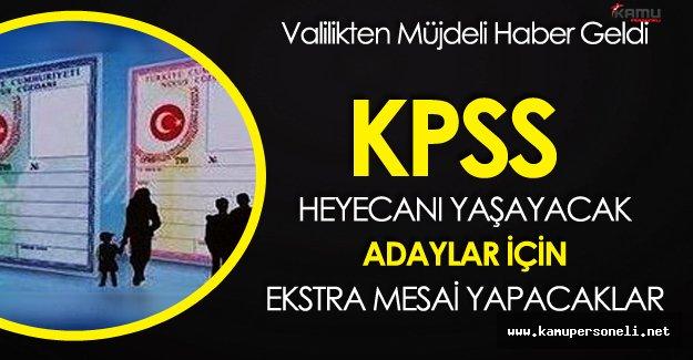 İstanbul'da KPSS Heyecanı Yaşayacak Adaylara Müjdeli Haber Geldi