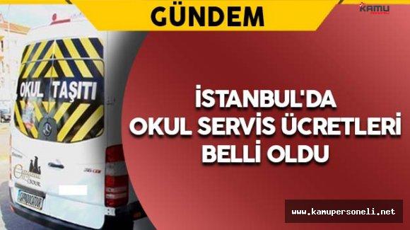 İstanbul'da Okul Servis Ücretleri Belli Oldu
