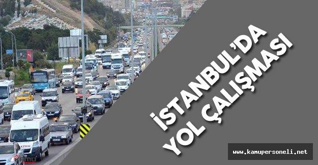 İstanbul'da Yol Çalışması ( İbrahim Tatlıses Üst Geçidi Yıkılacak)