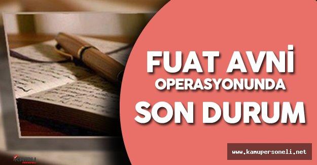 İstanbul'daki Fuat Avni Operasyonunda Son Gelişmeler