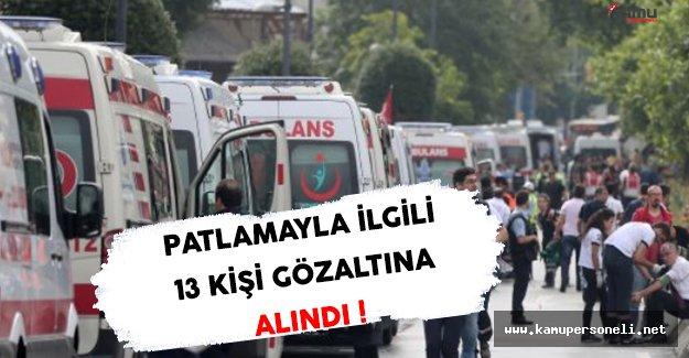 İstanbul'daki Patlamayla İlgili Gözaltı Sayısı Yükseliyor