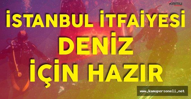 İstanbul İtfaiyesi Artık Denizde de Görev Yapacak