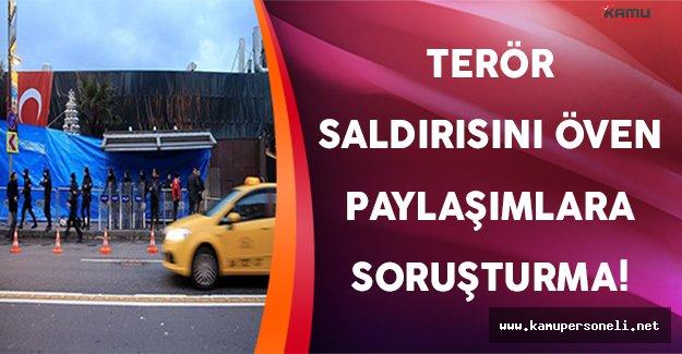 İstanbul Reina Terör Saldırısını Öven Paylaşımlara Soruşturma Açıldı