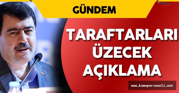 İstanbul Valisi Vasip Şahin'den Sporseverleri Üzecek Açıklama