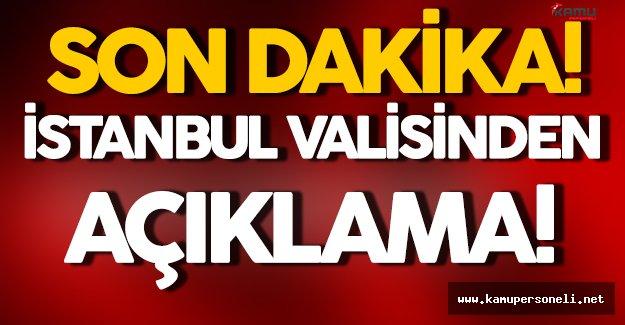 İstanbul Valisi Vasip Şahinden Patlamaya İlişkin Açıklama