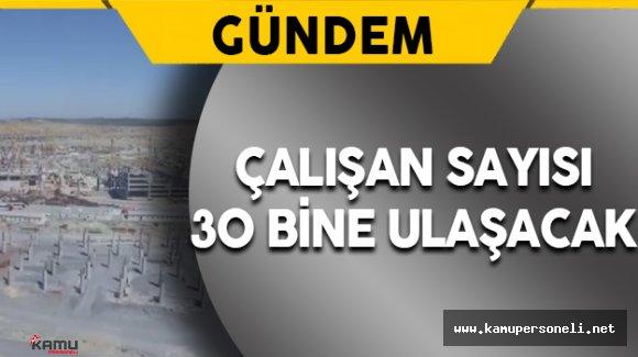 İstanbul Yeni Havalimanı'nında Çalışan Sayısı 30 Bine Ulaşacak