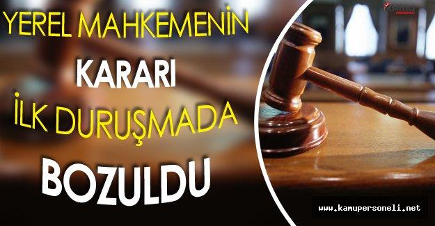 İstinaf Mahkemesi İlk Duruşmada Yerel Mahkeme Kararının Hükmünü Bozdu