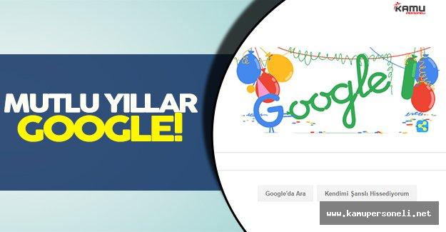 İyiki Doğdun Google!