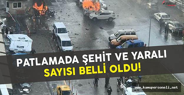 İzmir Adliyesi Önündeki Patlamada Şehit ve Yaralı Sayısı Belli Oldu