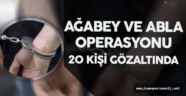 İzmir'de 'Ağabey' ve 'Abla' Operasyonu